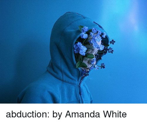 abduction: abduction:  by Amanda White