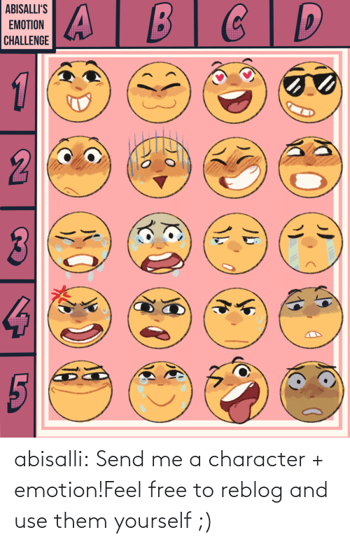 use: abisalli:  Send me a character + emotion!Feel free to reblog and use them yourself ;)