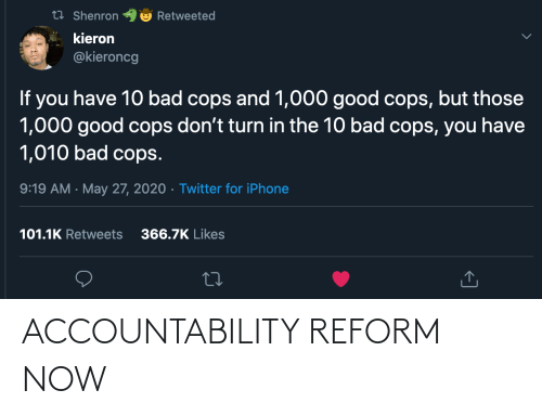 accountability: ACCOUNTABILITY REFORM NOW