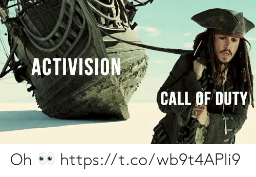 Video Games, Call of Duty, and Activision: ACTIVISION  CALL OF DUTY Oh 👀 https://t.co/wb9t4APli9