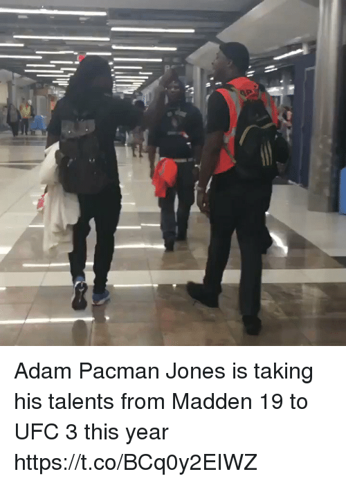 Nfl, Ufc, and Pacman: Adam Pacman Jones is taking his talents from Madden 19 to UFC 3 this year https://t.co/BCq0y2EIWZ
