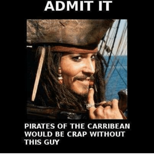 Admit It Pirates Of The Carribean Would Be Crap Without This Guy