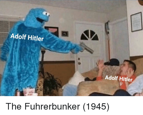 Hitler, Adolf Hitler, and Adolf: Adolf Hitler  Adolf Hitler The Fuhrerbunker (1945)