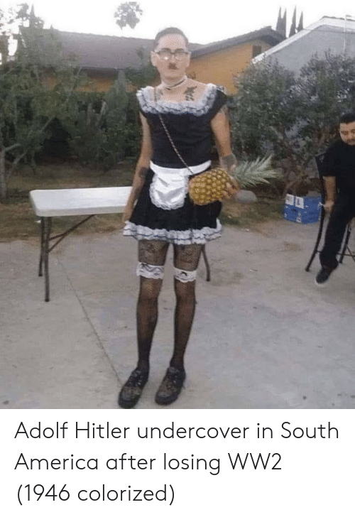 Adolf: Adolf Hitler undercover in South America after losing WW2 (1946 colorized)