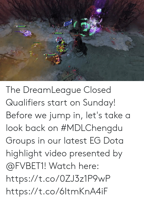 Qualifiers: Adroit Boomy.djzj.c0 m  Adroit.Mac. 27  18  Adroit Bok. The DreamLeague Closed Qualifiers start on Sunday! Before we jump in, let's take a look back on #MDLChengdu Groups in our latest EG Dota highlight video presented by @FVBET1!   Watch here: https://t.co/0ZJ3z1P9wP https://t.co/6ItmKnA4iF
