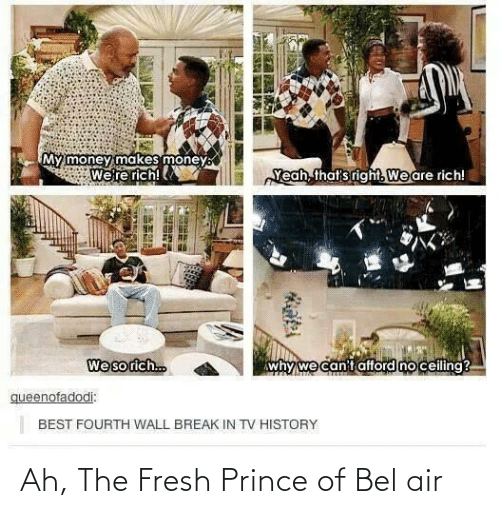 Fresh Prince: Ah, The Fresh Prince of Bel air