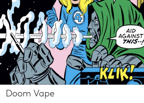 Aid: AID  AGAINST  THIS  KLIK Doom Vape