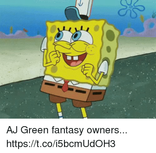 Sizzle: AJ Green fantasy owners... https://t.co/i5bcmUdOH3