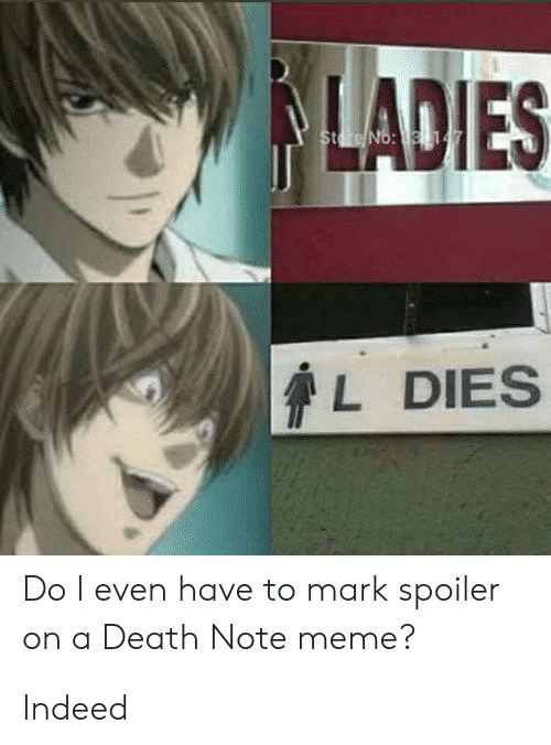 23 Funny Death Note Memes You Won T Be Able To Forget