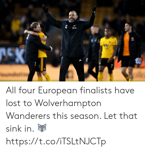 ballmemes.com: All four European finalists have lost to Wolverhampton Wanderers this season. Let that sink in. 🐺 https://t.co/iTSLtNJCTp