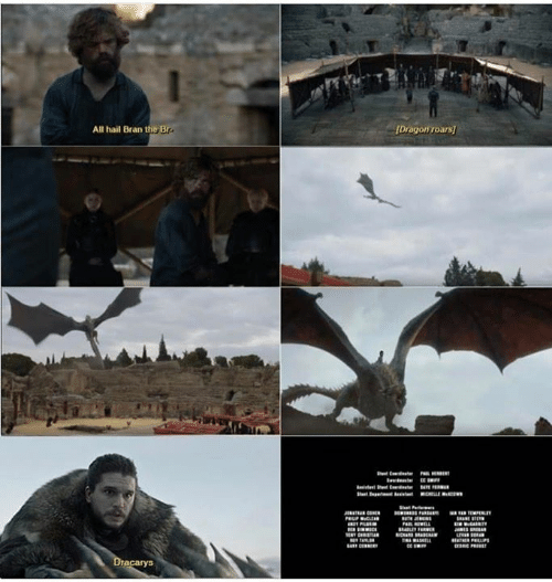Game of Thrones, Bran, and Dragon: All hail Bran the Br  Dragon roars  rHEE  t pm tHLLEew  st P  PELP CLE  RLEY RW  E CIST  AL  CEER  ASL  etaTER PLLP  Dracarys