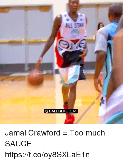 All Star, Memes, and Too Much: ALL STAR  BALLISLIFE.COM Jamal Crawford = Too much SAUCE https://t.co/oy8SXLaE1n