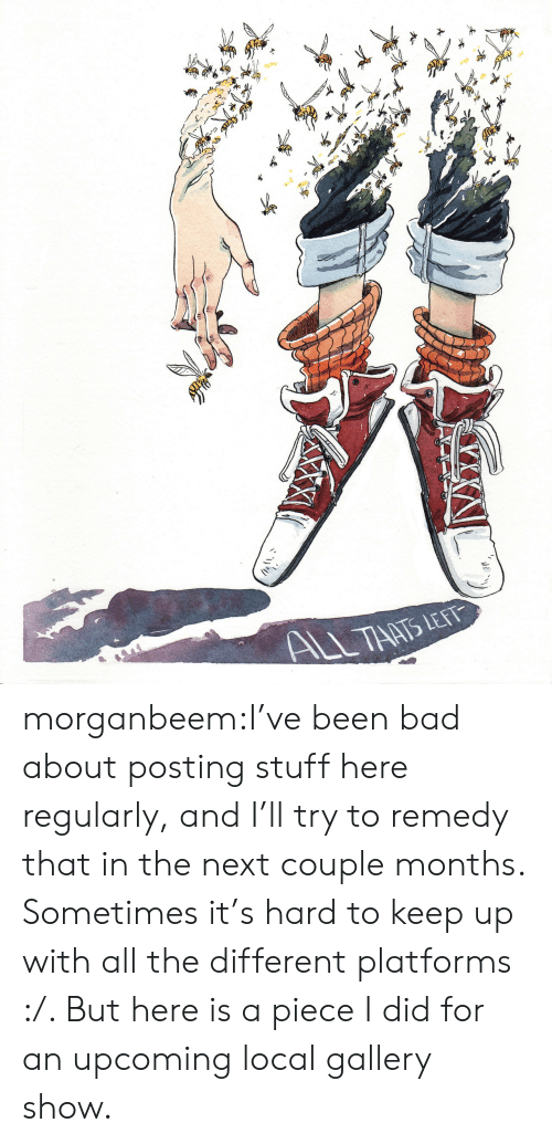 Bad, Target, and Tumblr: ALL THATS LET morganbeem:I've been bad about posting stuff here regularly, and I'll try to remedy that in the next couple months.  Sometimes it's hard to keep up with all the different platforms :/.  But here is a piece I did for an upcoming local gallery show.