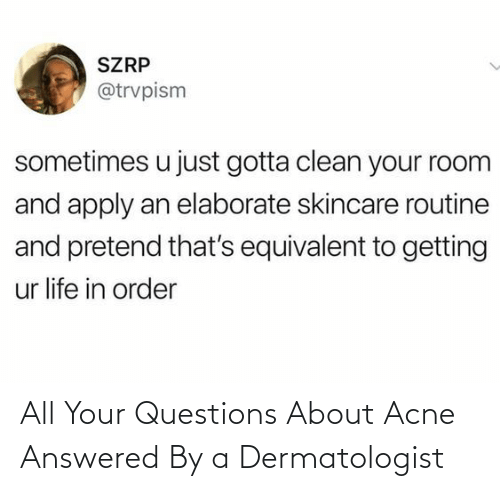 Http: All Your Questions About Acne Answered By a Dermatologist