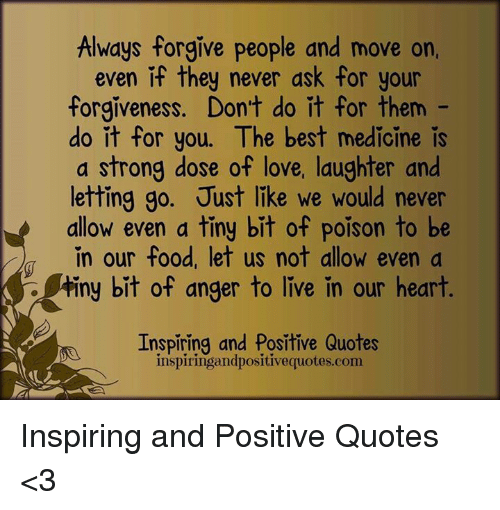 why don t people forgive