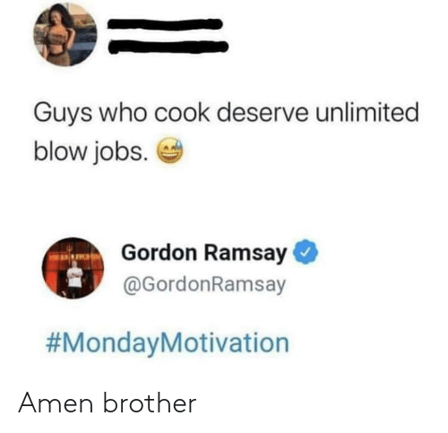 brother: Amen brother
