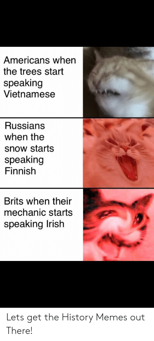 Americans When the Trees Start Speaking Vietnamese Russians