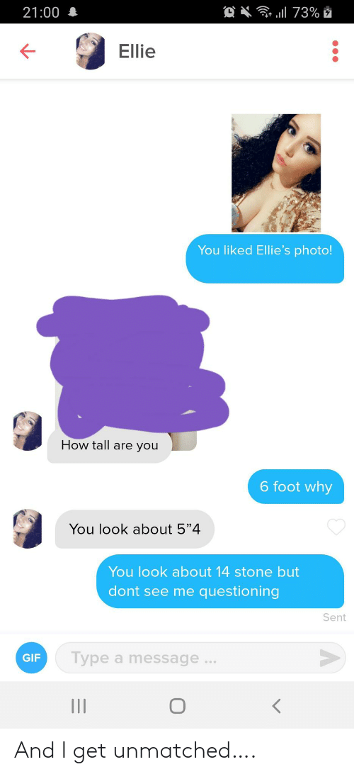 I Get: And I get unmatched….