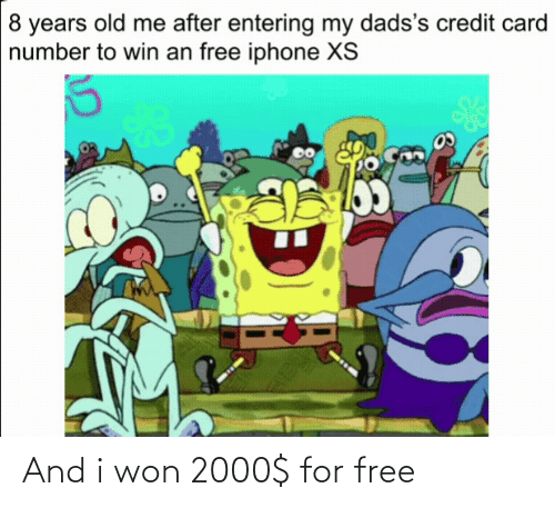 For Free: And i won 2000$ for free