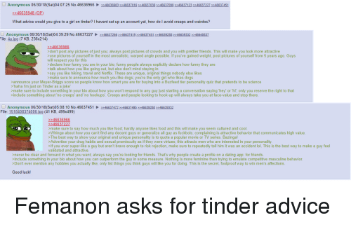 4chan dating advice