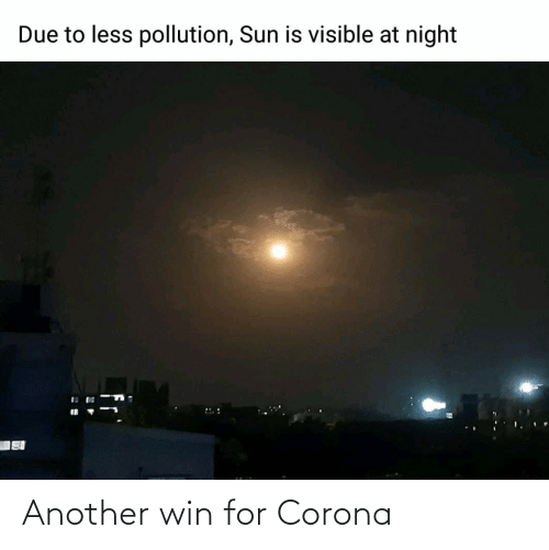 win: Another win for Corona