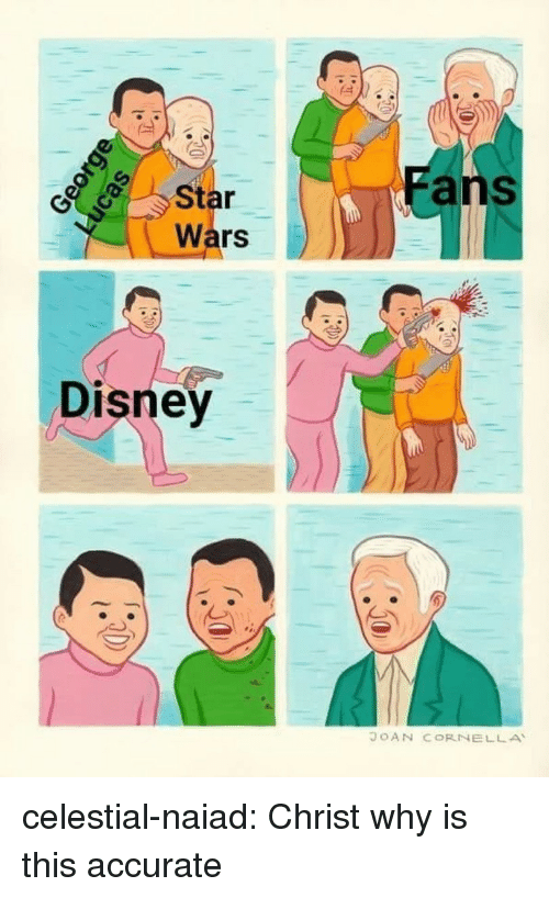 Disney, Star Wars, and Tumblr: ans  Star  Wars  Disney  JOAN CORNELLA celestial-naiad: Christ why is this accurate