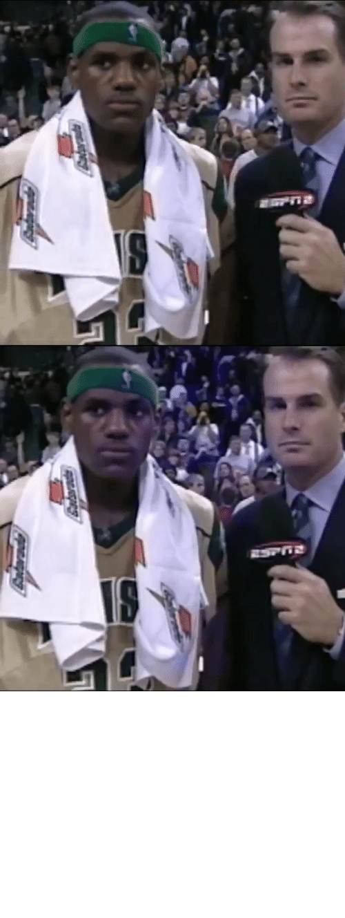 "Pressure: Antarade ""No pressure for me.""   17 years ago today, @JayBilas interviews 17-year-old @KingJames after his 1st national TV game in high school. https://t.co/uvmyHW5RZN"