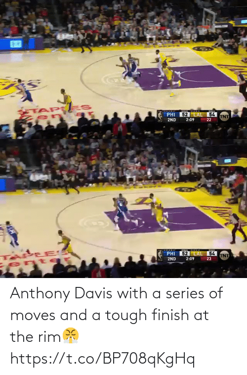 davis: Anthony Davis with a series of moves and a tough finish at the rim😤 https://t.co/BP708qKgHq