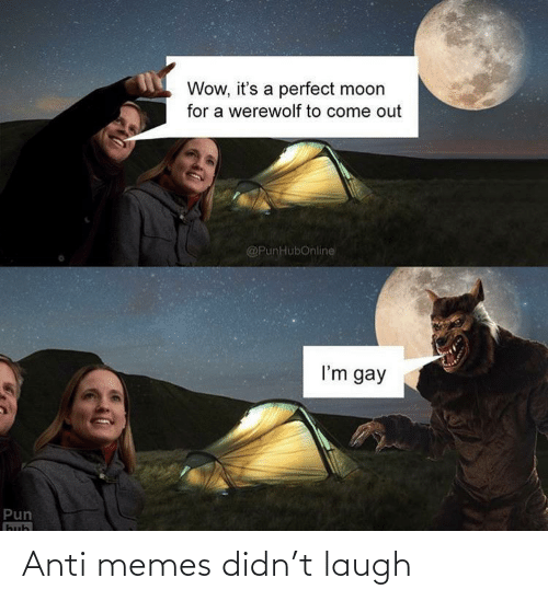 Anti: Anti memes didn't laugh