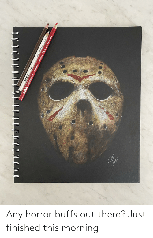 this morning: Any horror buffs out there? Just finished this morning