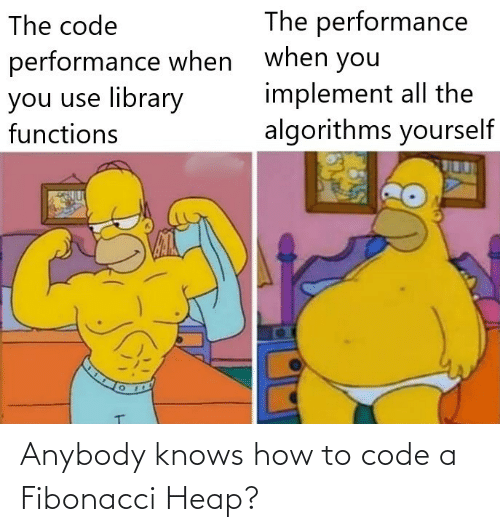 Knows How To: Anybody knows how to code a Fibonacci Heap?