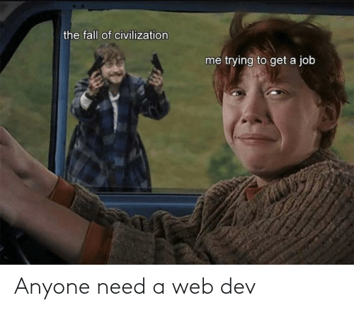 web: Anyone need a web dev