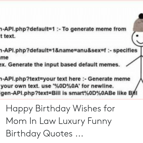 🅱️ 25 Best Memes About Happy Birthday Mother in Law Meme
