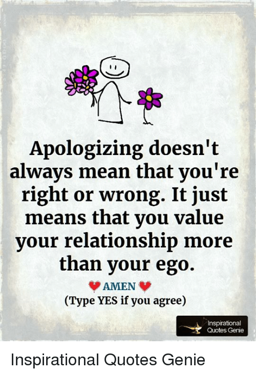 does not always mean that you are wrong. NEW Motivational POSTER Apologizing..