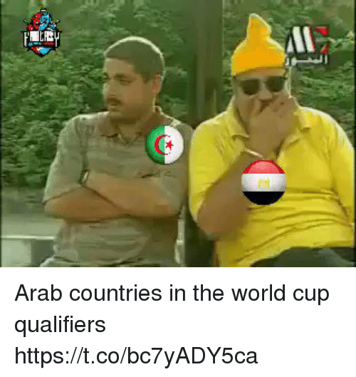 World Cup Qualifiers: Arab countries in the world cup qualifiers https://t.co/bc7yADY5ca
