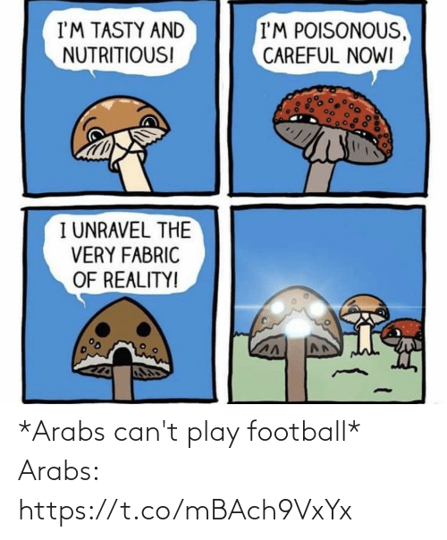 play: *Arabs can't play football*  Arabs: https://t.co/mBAch9VxYx