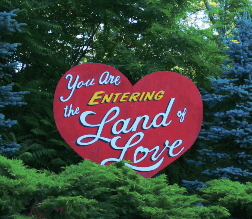The S: are  you  ENTERING  the  s  Land  Love