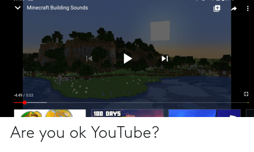 are you ok: Are you ok YouTube?