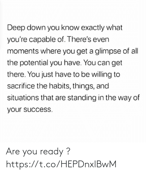 You Ready: Are you ready ? https://t.co/HEPDnxlBwM