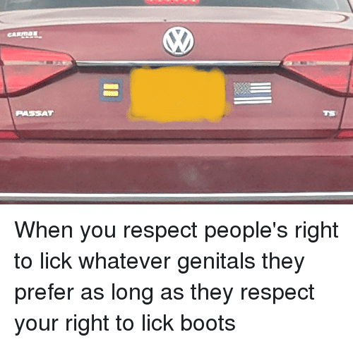 Boot enforced her lick
