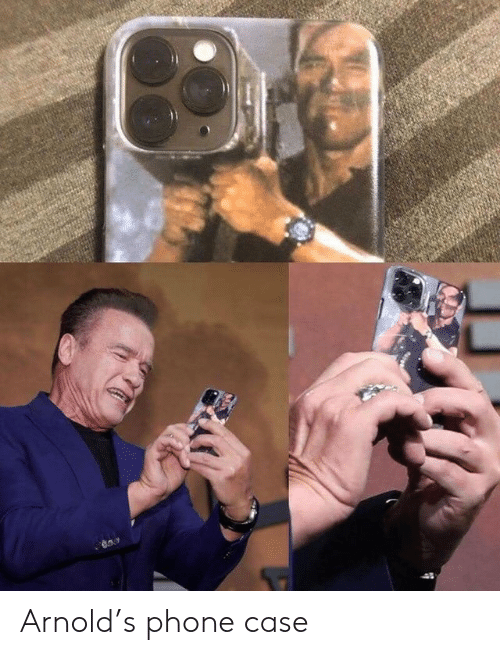 phone case: Arnold's phone case