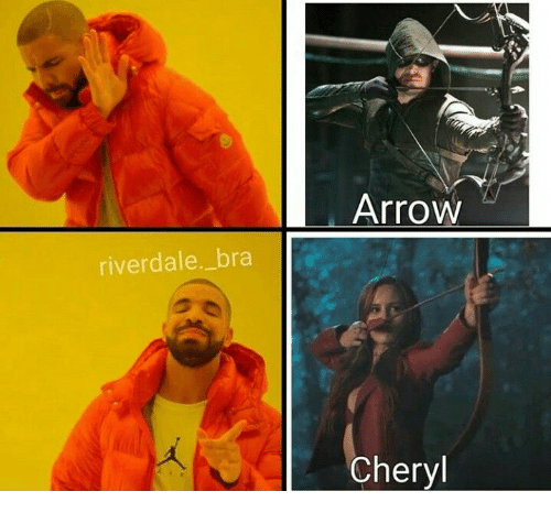 riverdale: Arrow  riverdale._bra  Cheryl