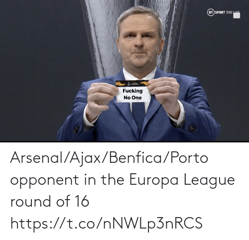 ajax: Arsenal/Ajax/Benfica/Porto opponent in the Europa League round of 16 https://t.co/nNWLp3nRCS