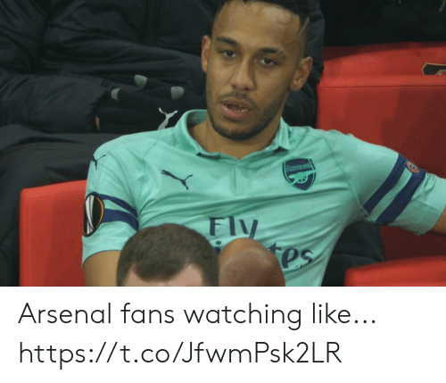 Arsenal, Soccer, and Like: Arsenal fans watching like... https://t.co/JfwmPsk2LR