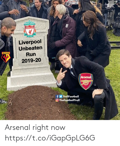 right now: Arsenal right now https://t.co/iGapGpLG6G
