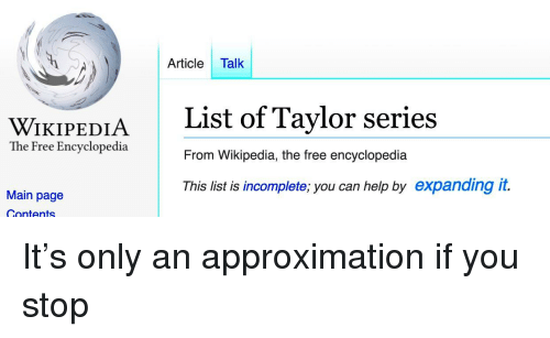 🅱️ 25+ Best Memes About Taylor Series | Taylor Series Memes