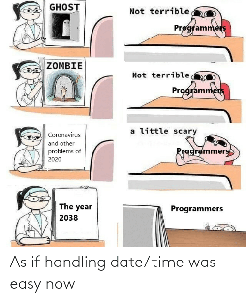 Date: As if handling date/time was easy now