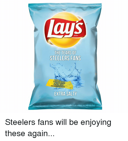 Nfl, Being Salty, and Steelers: aus  THE TEARS OF  STEELERS FANS  EXTRA SALTY Steelers fans will be enjoying these again...