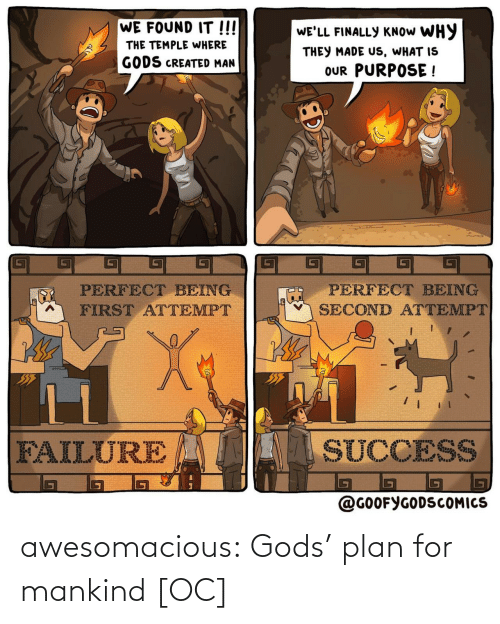 Gods Plan: awesomacious:  Gods' plan for mankind [OC]