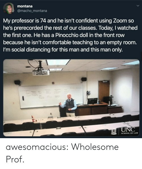 Wholesome: awesomacious:  Wholesome Prof.
